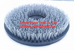 10 inch abrasive brush Diam 250mm brush stone polishing tools