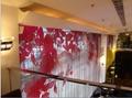 楓丹白露餐廳金屬垂帘網