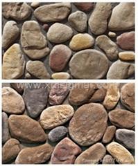 Cobblestone Culture Stone Wall Stone