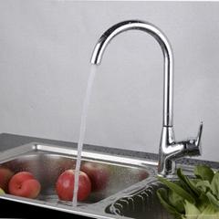 Fashion Brass Single Hole Kitchen Faucet