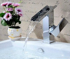 Tub faucet ceramic cartridge single handle taps