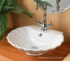 Luxurious modular bathroom furniture water basin