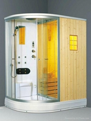 shower enclosure and shower room