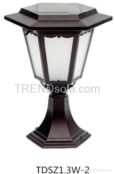 Solar Post Lamp 1
