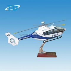EC-135 helicopter resin craft diecast model