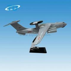 KJ-2000 factory OEM top quality resin handmade aircraft