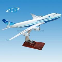 GRANDSTAR CARGO B747-400 1:200 35cm cargo aircraft