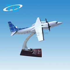 Fokker 50 1:105 plane decoration scale model air