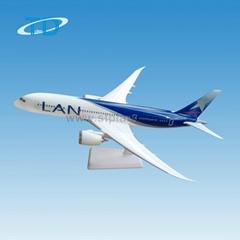 B787 1/200 28.5cm plastic airport model