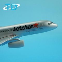 Jetstar A320(16cm) 1/250 diecast aircraft models