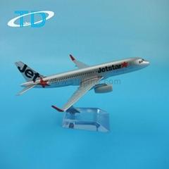 Airbus A320 Jetstar 1/250 16cm toy airplane
