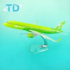 A320NEO Plane model aircraft S7 37.6cm flying model aeroplane