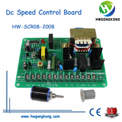 DC speed control board