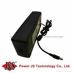 Iec c8 connector desktop power supply 24v 5a ac/dc adapter