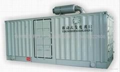 发电机组箱