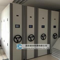 智能電動檔案密集櫃