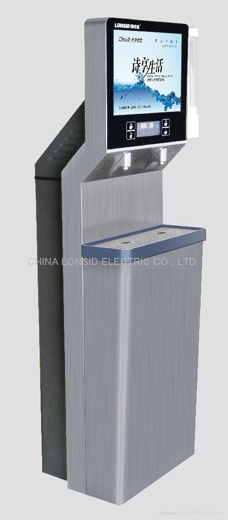多功能超薄立式不锈钢直饮机(带多媒体播放功能) 1