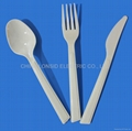 184mm long Disposable Plastic Tableware Tablespoons and Spoons and Tea Spoons