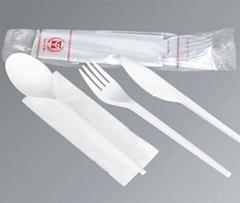 一次性透明塑料餐具 包