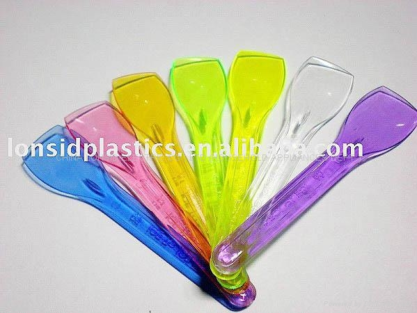 colorful plastic ice cream scoops-ICS002