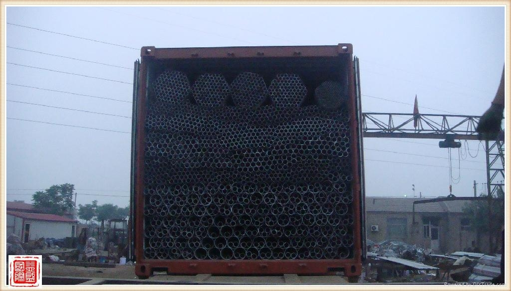 GI Pipe/Galvanized Steel Pipe 4