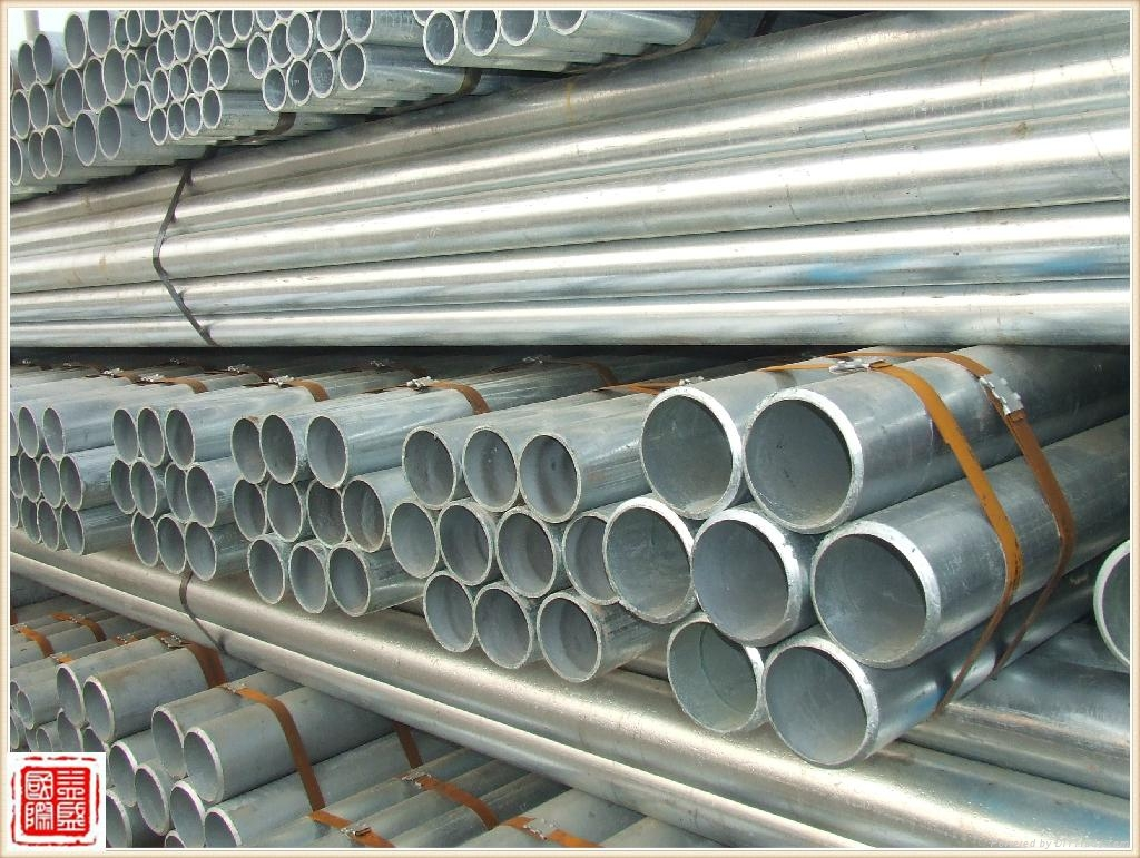 GI Pipe/Galvanized Steel Pipe 5