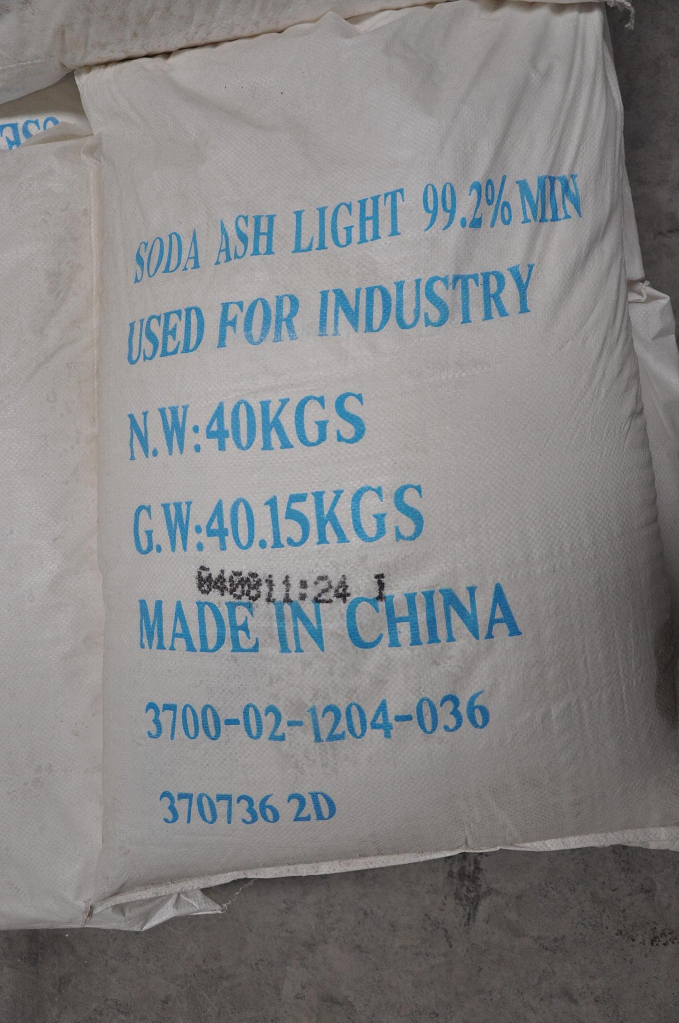 SODA ASH LIGHT 8