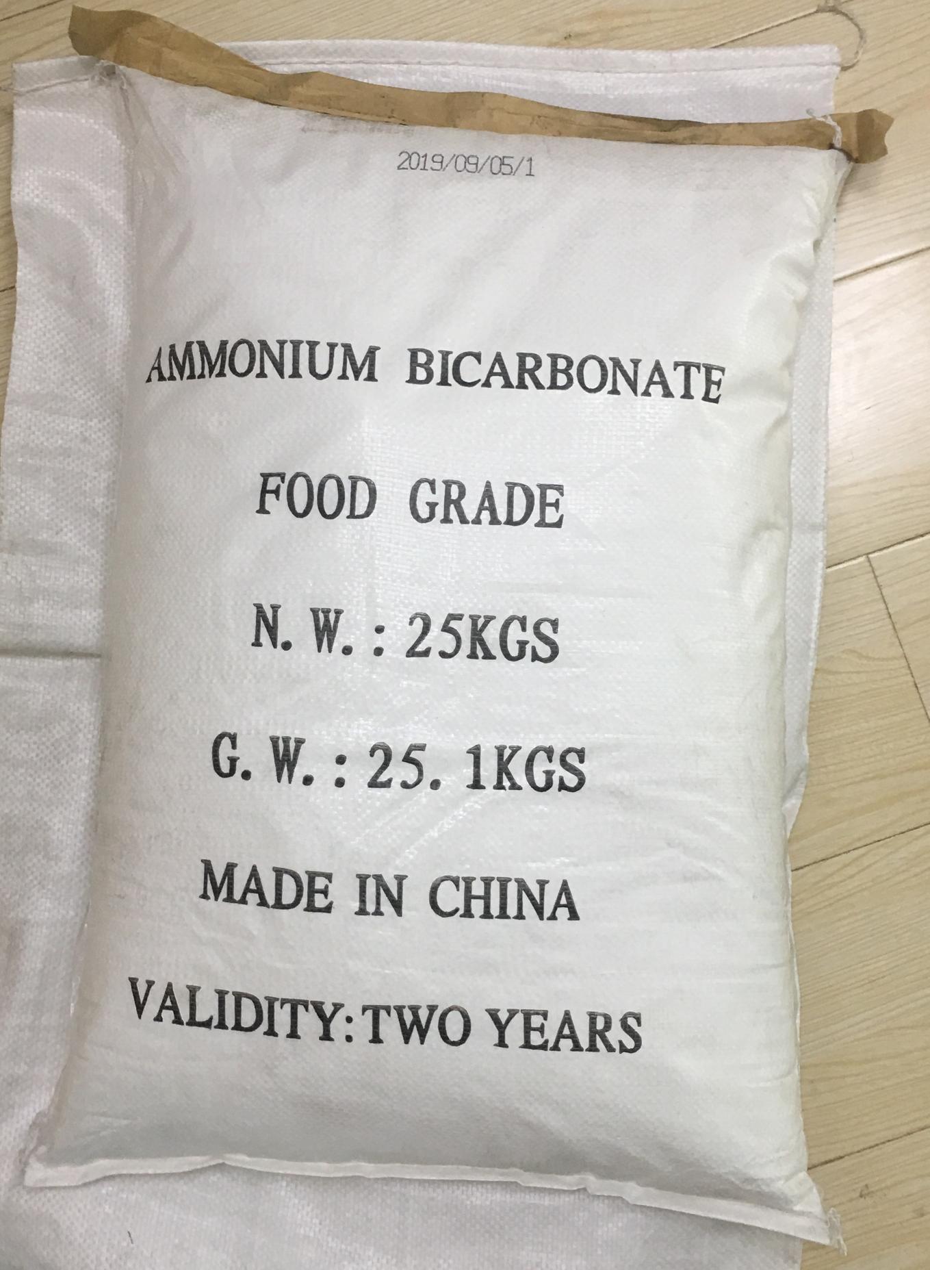 Ammonium Bicarbonate Food Grade 4