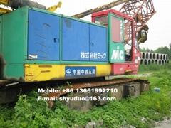 Used 50ton Kobelco Hydraulic Crawler Crane 7055