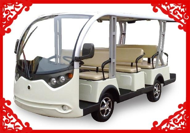 2014 Hot-selling 11 seats sightseeing cart 1