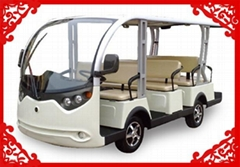 2014 Hot-selling 11 seats sightseeing cart