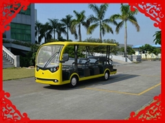 2014 Best-selling 14 seats new style sightseeing vehicle