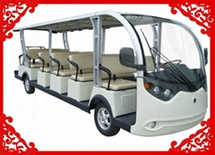 2014 High quality 17 seats sightseeing cart
