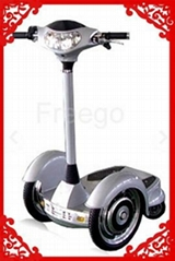 Battery powered self-balanced scooter
