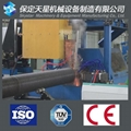 High frequency spiral finned tube welding machine