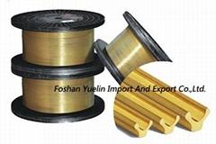 Y Type Brass Wire for Zipper Making