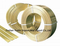 Large Flat Wire for Zipper Making