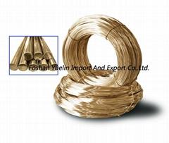 Round Copper Wire for Zipper Making