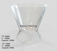250ml hgc-02-098 double wall cup