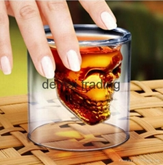 HGC-05-070 74ml skull  double wall cup