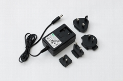 12V,4A universal AC DC adapter with level VI