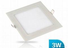 LED 2835 超薄侧发光天花灯