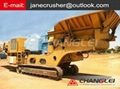 Manufactured Sand mobile impact crusher