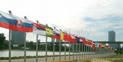 Conical Aluminum Flagpoles