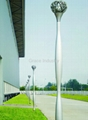 Aluminium Tapered Lamp Pole
