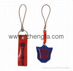 PVC printing mobile strap