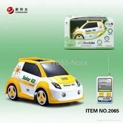 4 channel R/C solar car
