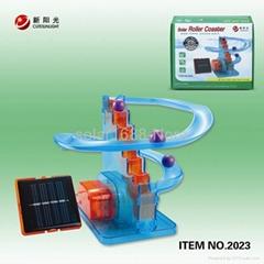 solar power coaster toys for child