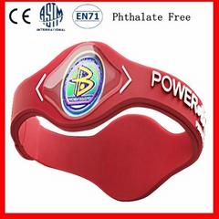 Custom Silicone Energy Bracelet