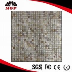 Square Freshwater shell mosaic tile